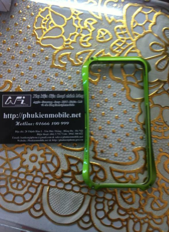 Ốp viền iPhone 5 Deff Cleave Aluminum 11