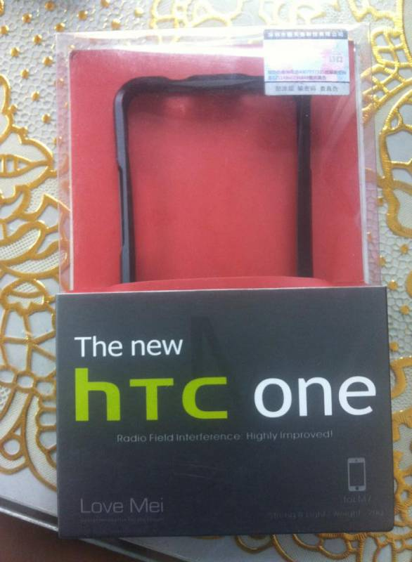 Ốp viền HTC One M7 Love Mei 2