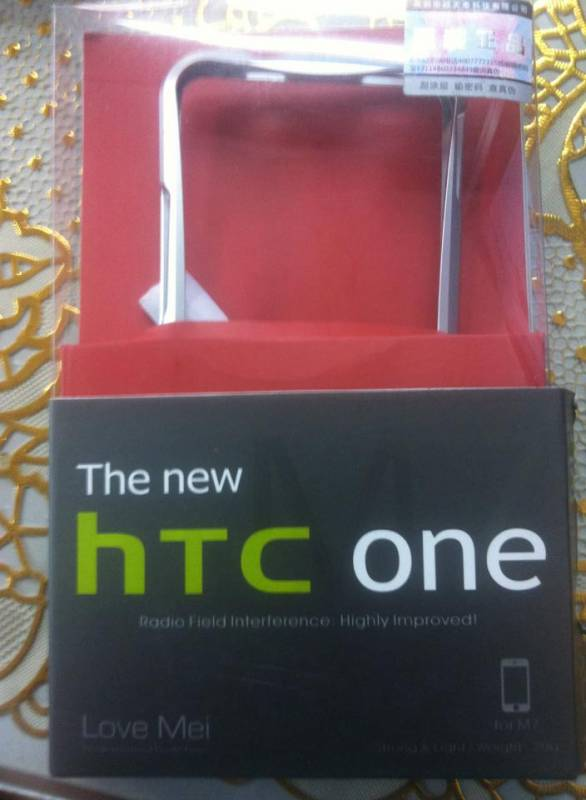 Ốp viền HTC One M7 Love Mei 4