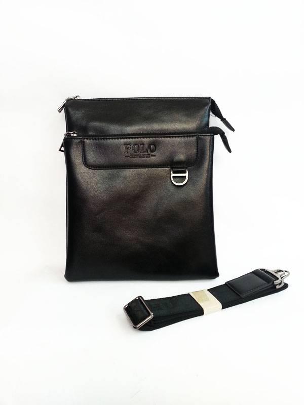 Túi xách da đựng iPad đeo chéo Polo kiểu 2 1