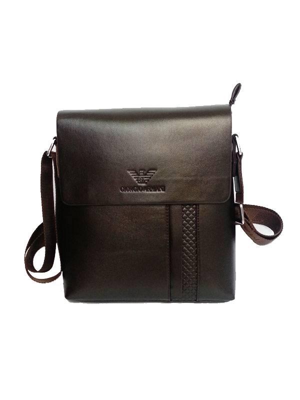 Túi xách da đựng iPad đeo chéo Giorgio Armani kiểu 21 1