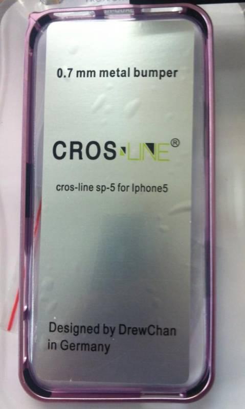 Ốp viền iPhone 5 Cross Line siêu mỏng 2