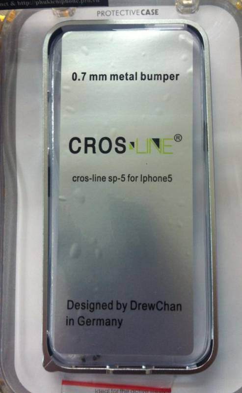 Ốp viền iPhone 5 Cross Line siêu mỏng 4