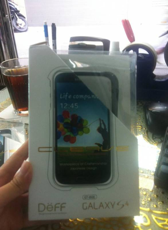Ốp viền Samsung Galaxy S4 I9500 Cleave Aluminum 1