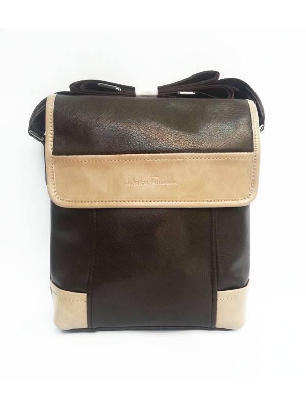 Túi xách da đựng iPad đeo chéo Salvatore Ferragamo kiểu 12 1