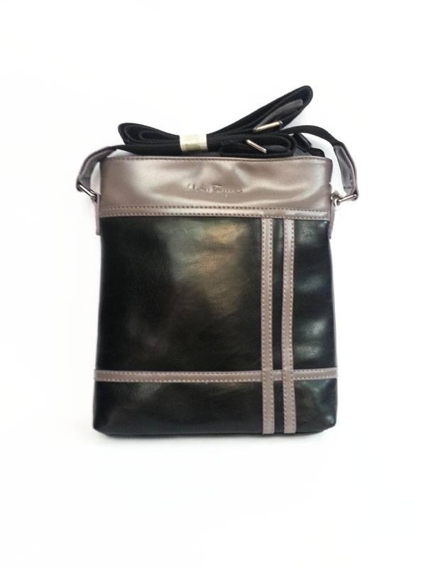 Túi xách da đựng iPad đeo chéo Salvatore Ferragamo kiểu 14 1