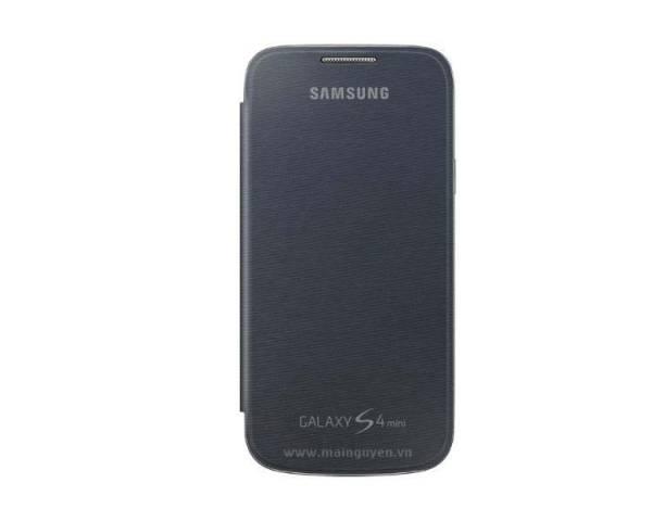 Bao da Samsung Galaxy S4 mini Flip Cover i9190 chính hãng, Flip Cover S4 mini 1