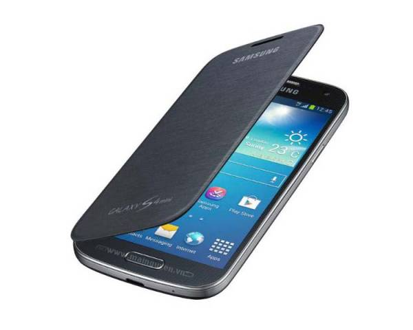 Bao da Samsung Galaxy S4 mini Flip Cover i9190 chính hãng, Flip Cover S4 mini 2