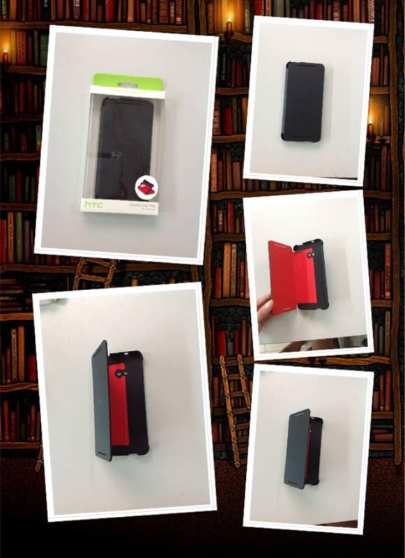 Bao da HTC One M7 chính hãng, Flip Cover HTC One 5