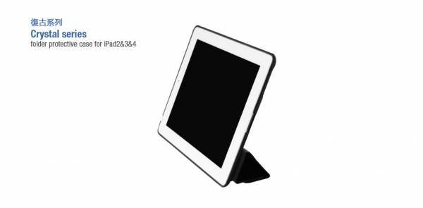 Bao da iPad 2/3/4 Hoco Crystal Series 2