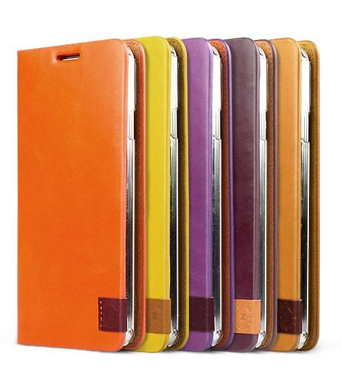 Bao da Samsung Galaxy Note 3 N9000 mở ngang Zenus Signature Tag Diary 2