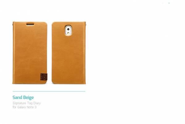 Bao da Samsung Galaxy Note 3 N9000 mở ngang Zenus Signature Tag Diary 6
