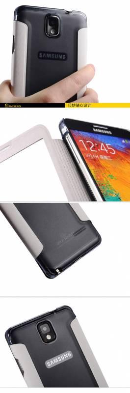Bao da Samsung Galaxy Note 3 N9000 Baseus Folio 3