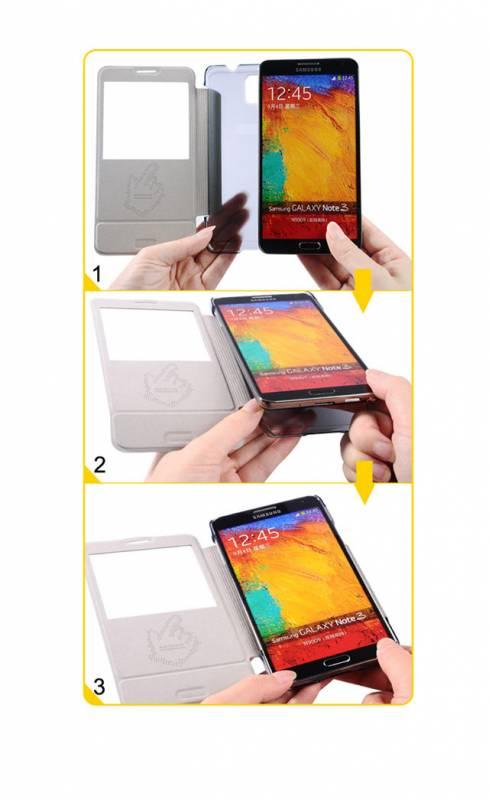 Bao da Samsung Galaxy Note 3 N9000 Baseus Folio 10