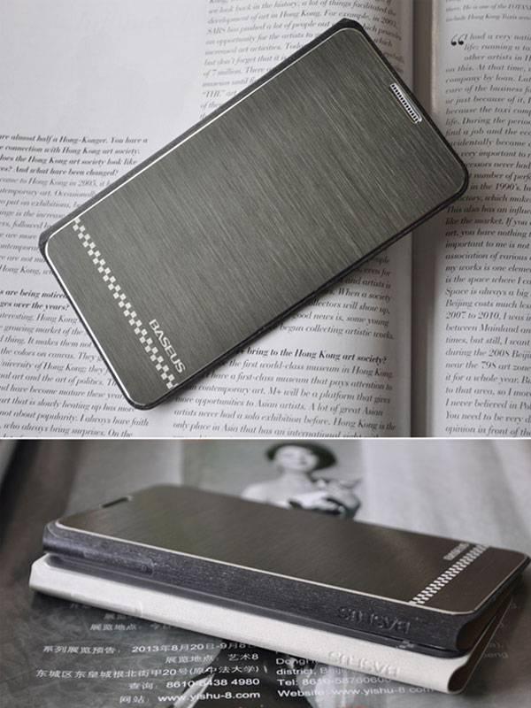 Bao da Samsung Galaxy Note 3 N9000 Baseus nhôm xước 6