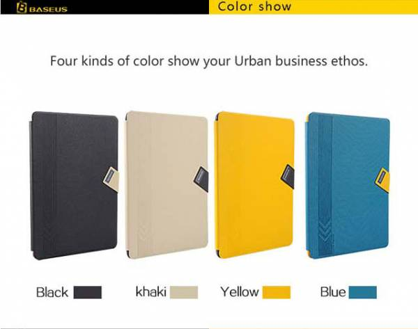 Bao da iPad Air thời trang Baseus Faith Leather 3