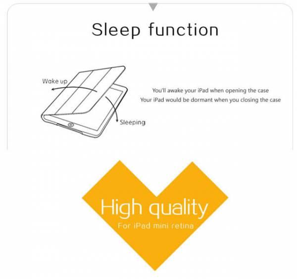 Bao da iPad Air cao cấp Baseus Folio siêu mỏng 6