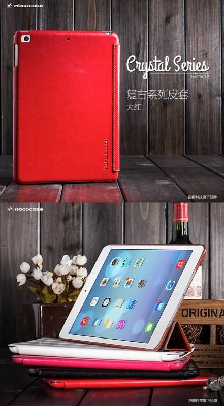 Bao da iPad Air chính hãng Hoco Crystal Case sang trọng 4