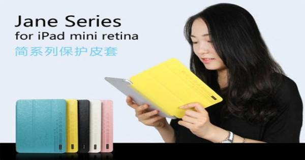 Bao da iPad mini Retina 2 cao cấp USAMS Jane 1