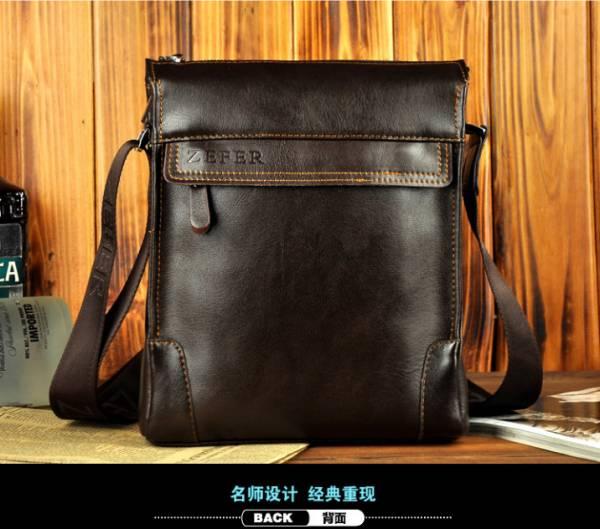 Túi xách da nam đựng iPad Zefer kiểu 1 3