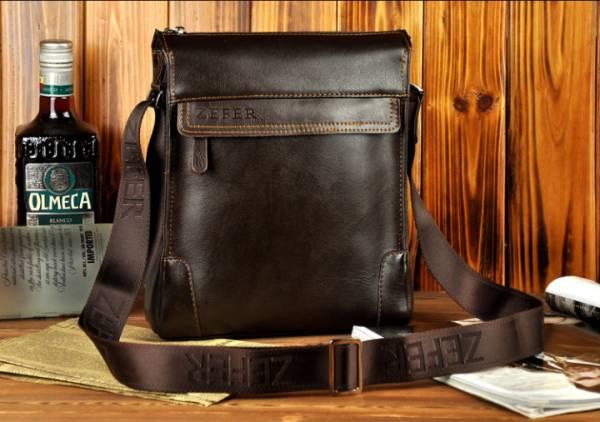 Túi xách da nam đựng iPad Zefer kiểu 1 5