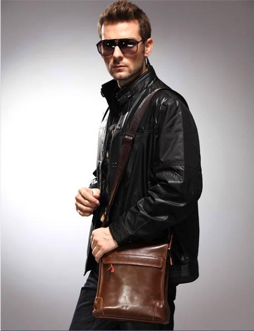 Túi xách da nam đựng iPad Zefer kiểu 1 8