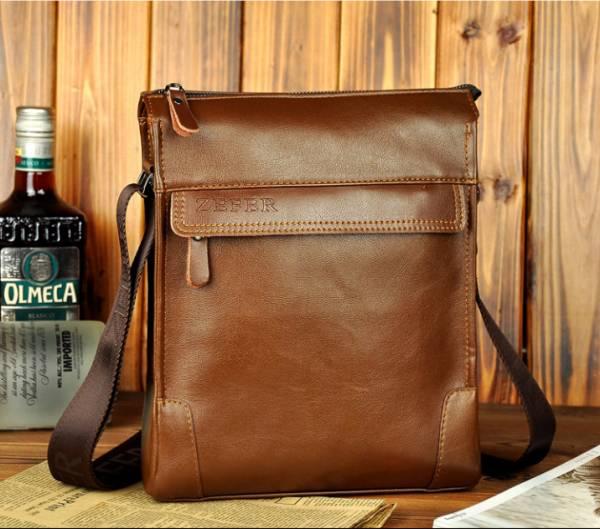 Túi xách da nam đựng iPad Zefer kiểu 1 10