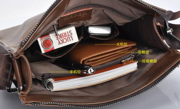 Túi xách da nam đựng iPad Zefer kiểu 1 14