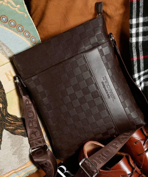 Túi xách da nam đựng iPad Zoro Paul kiểu 2 9