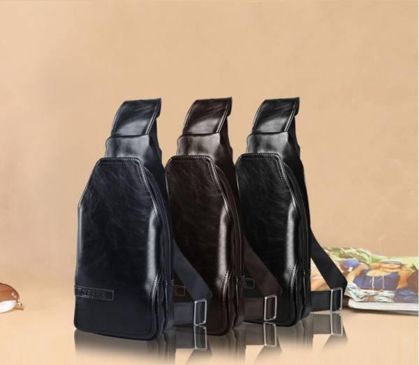 Túi xách da nam đựng iPad Zefer kiểu 3 4