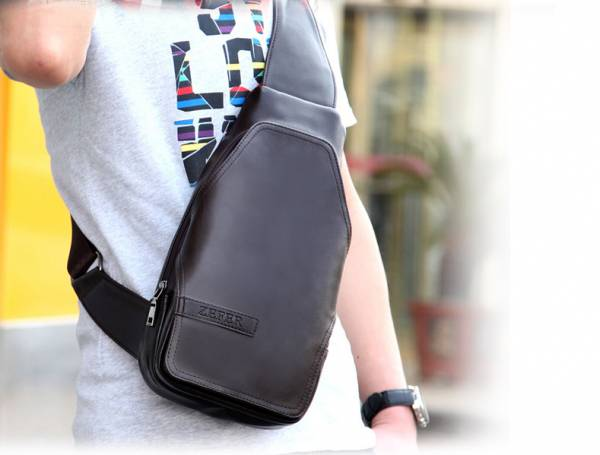 Túi xách da nam đựng iPad Zefer kiểu 3 7