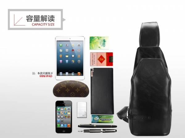 Túi xách da nam đựng iPad Zefer kiểu 3 8
