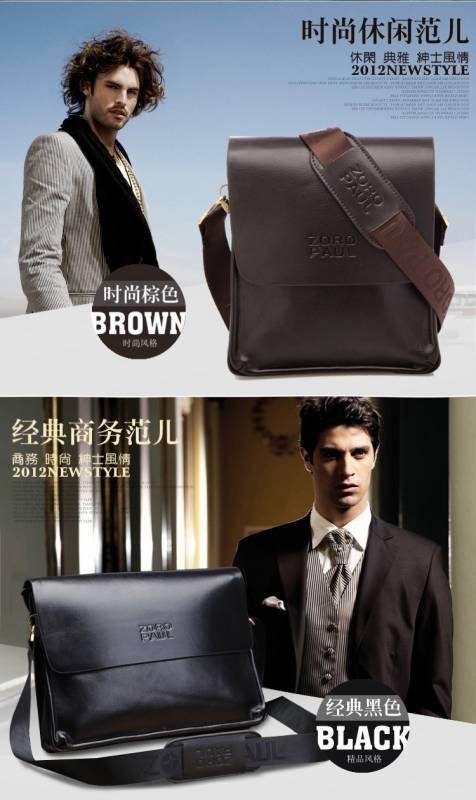 Túi xách da nam đựng iPad Zoro Paul kiểu 3 3