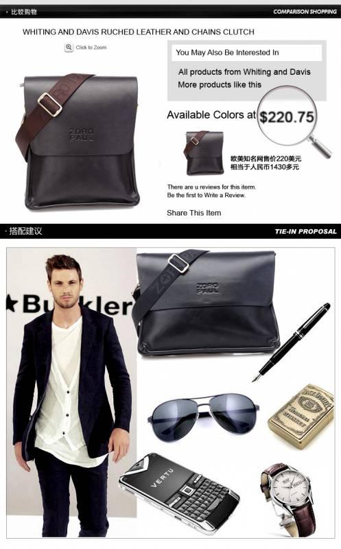 Túi xách da nam đựng iPad Zoro Paul kiểu 3 4