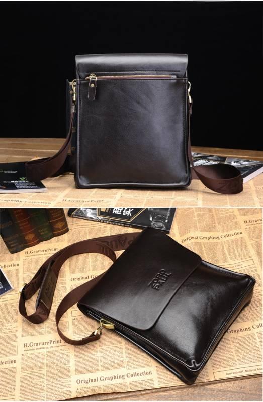 Túi xách da nam đựng iPad Zoro Paul kiểu 3 8