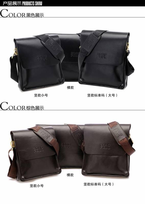 Túi xách da nam đựng iPad Zoro Paul kiểu 3 10
