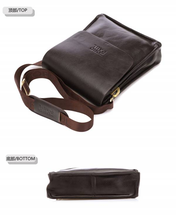 Túi xách da nam đựng iPad Zoro Paul kiểu 3 11