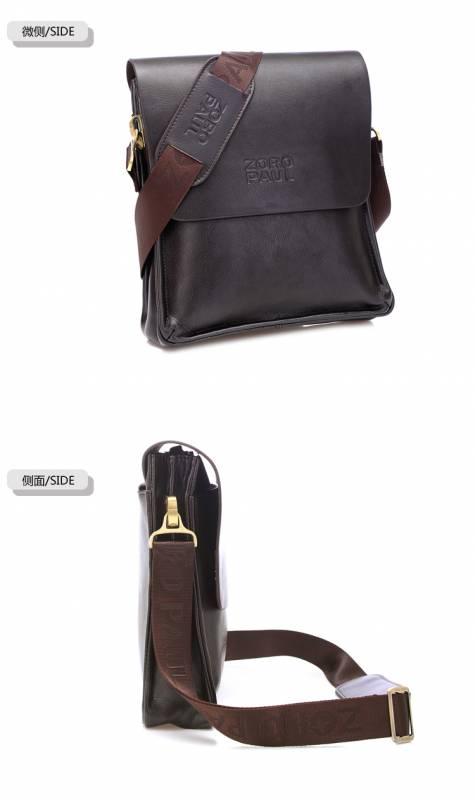 Túi xách da nam đựng iPad Zoro Paul kiểu 3 12