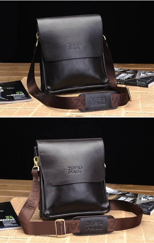 Túi xách da nam đựng iPad Zoro Paul kiểu 3 14