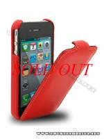 Bao da iPhone 4 Melkco Leather Case - Jacka Type (Màu đỏ)