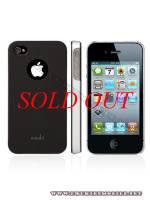 Ốp lưng iPhone 4 Moshi iGlaze 4 XT (Đen)