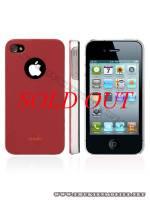 Ốp lưng iPhone 4 Moshi iGlaze 4 XT (Đỏ)