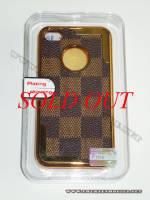 Ốp lưng iPhone 4 thời trang Plating ( Nâu Đen)