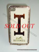Ốp lưng iPhone 4 Hermes (Be vàng)