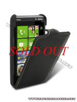 Bao lưng HTC HD7 Melkco Leather Case - Jacka Type màu đen