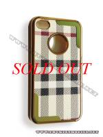 Ốp lưng iPhone 4 thời trang Plating (Bur Trắng)