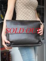 Túi xách da đựng iPad Giorgio Armani - kiểu 1