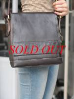 Túi xách da đựng iPad Giorgio Armani - kiểu 2
