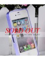 Viền iPhone 4/4S Crossline đính đá