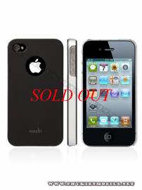 Phu kien iPhone - Ốp lưng iPhone 4 Moshi iGlaze 4 XT (Đen)